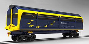 Así será el tren de carga del futuro en Cataluña