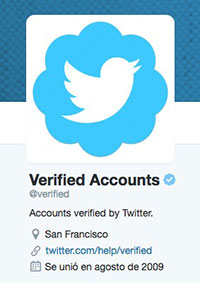 Verified by twitter