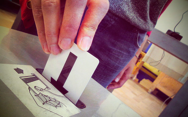 Electronic voting in Brussels