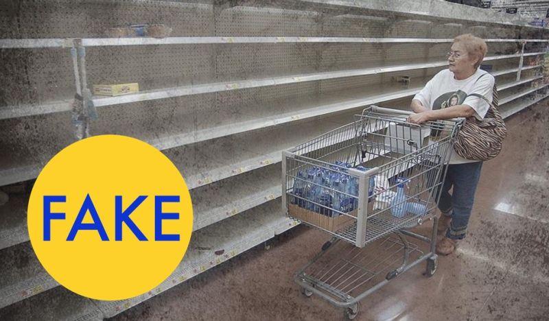 ¿Venezuela? FAKE: es Walmart