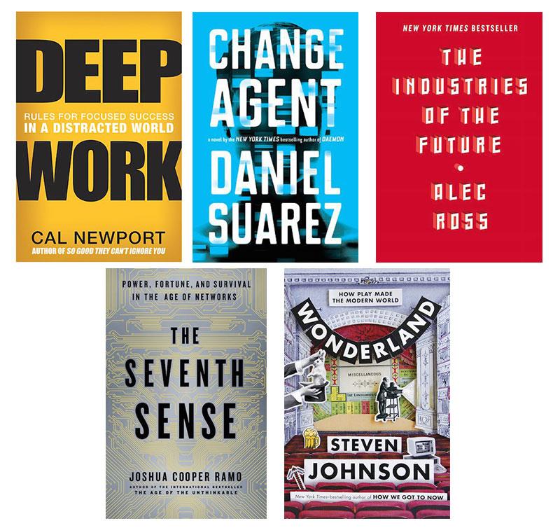 Cinco libros recomendados por Joi Ito, responsable del MIT Media Lab