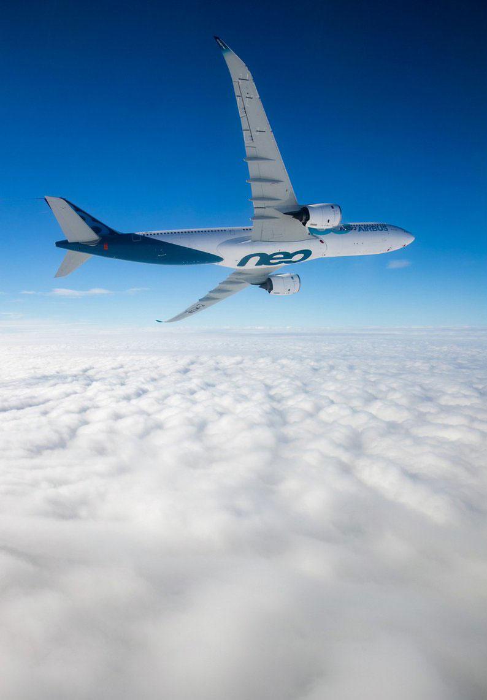 El primer A330neo en volar - Airbus/S. Ramadier
