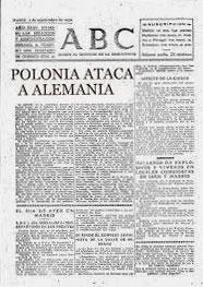 ABC / 1 de septiembre 1939