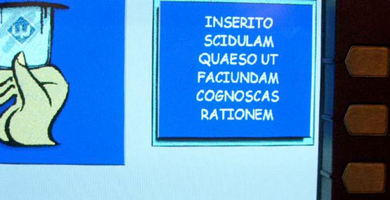 Latin ATM / Seth Schoen