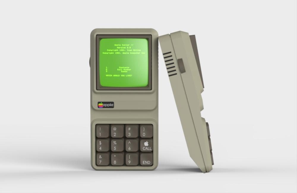 Apple IIe Phone