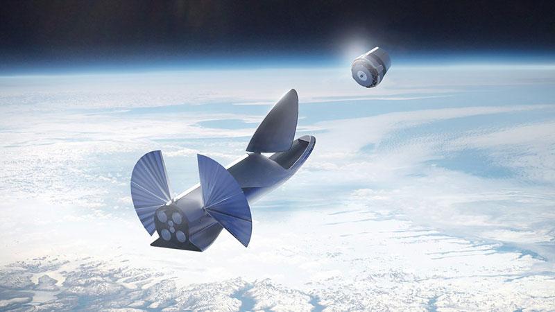 BFR en órbita terrestre