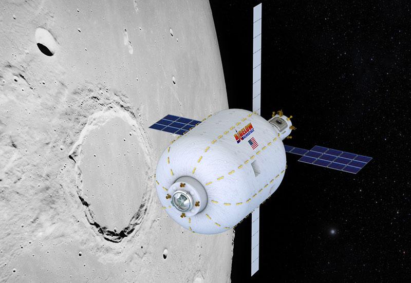 El B330 en la Luna