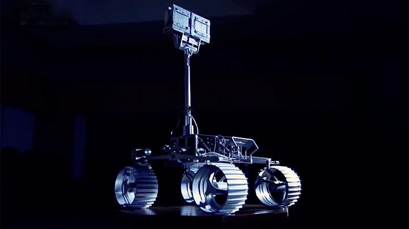 Modelo de desarrollo del rover de la misión