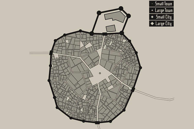 Generadores de ciudades medievales de fantasía