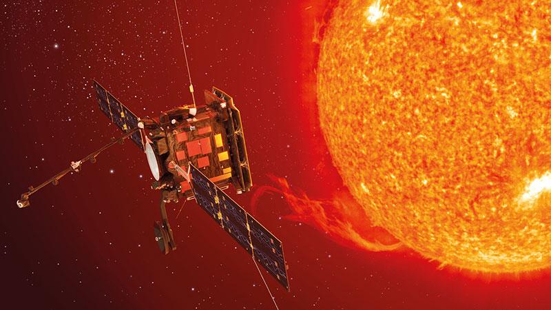 Impresión artística del Solar Orbiter