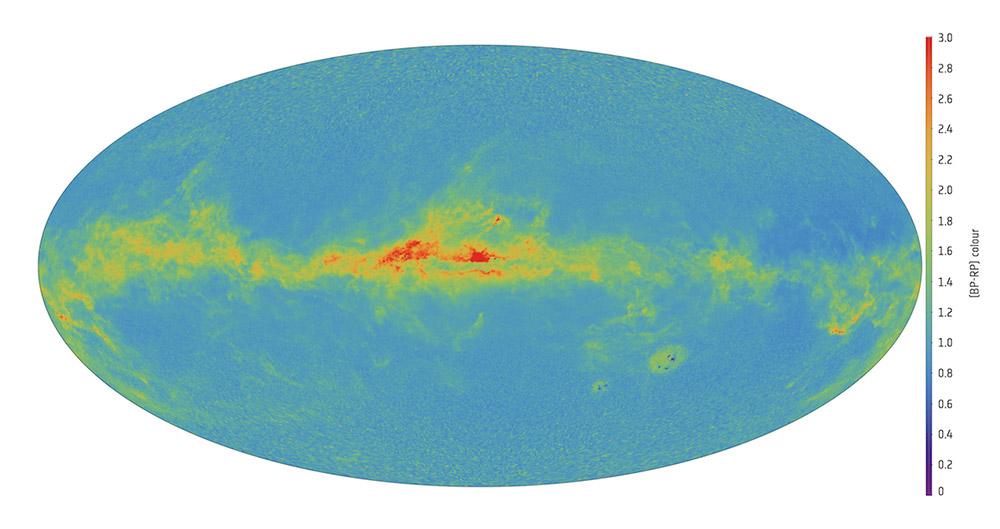 ESA Gaia Colour Preview