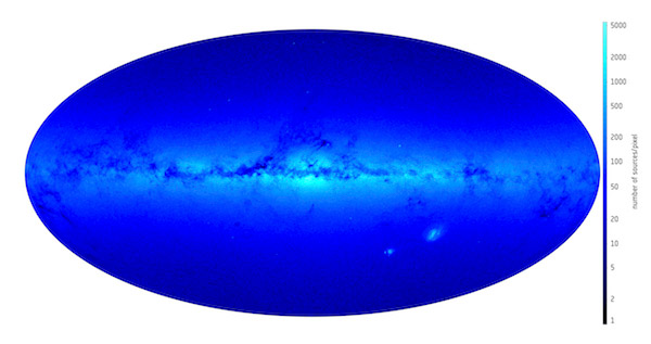 ESA Gaia Density Preview 600px