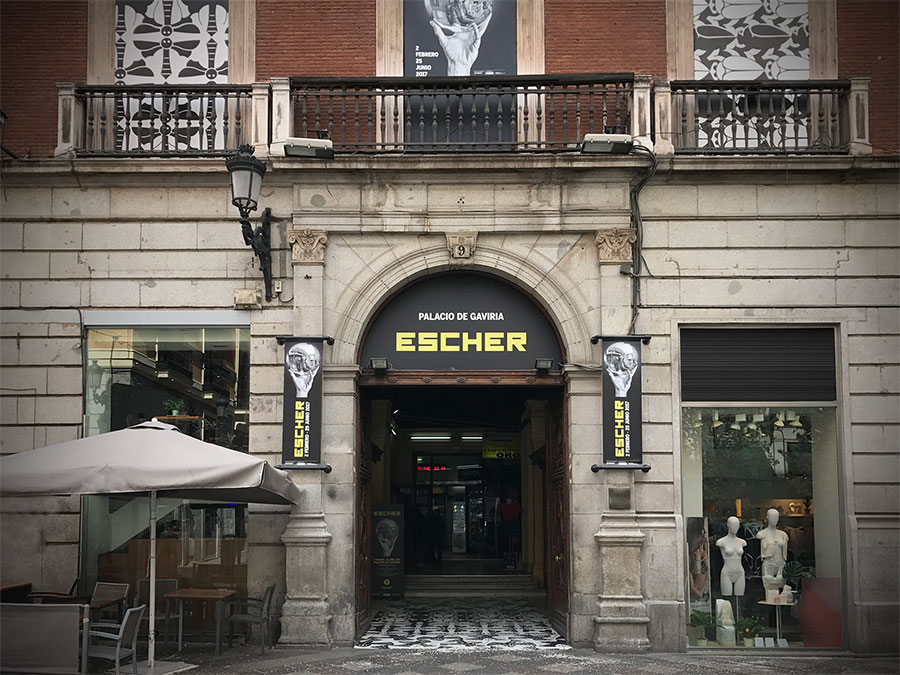 Escher en el Palacio de Gaviria (CC) Alvy / https://www.flickr.com/photos/alvy/33554093216