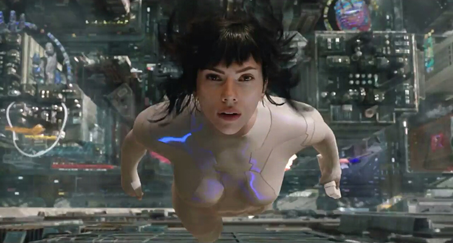 Ghost in the Shell: El alma de la máquina, 2017