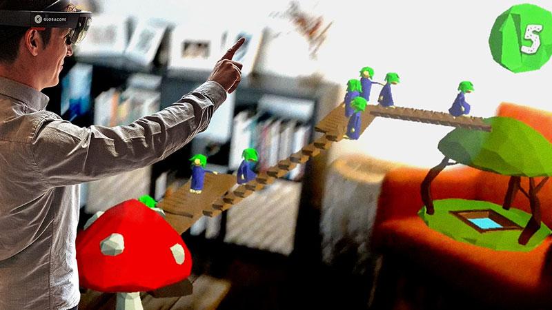 HoloLems: los Lemmings en realidad aumentada