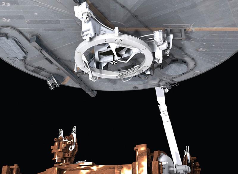 Mecanismo de captura del Hubble