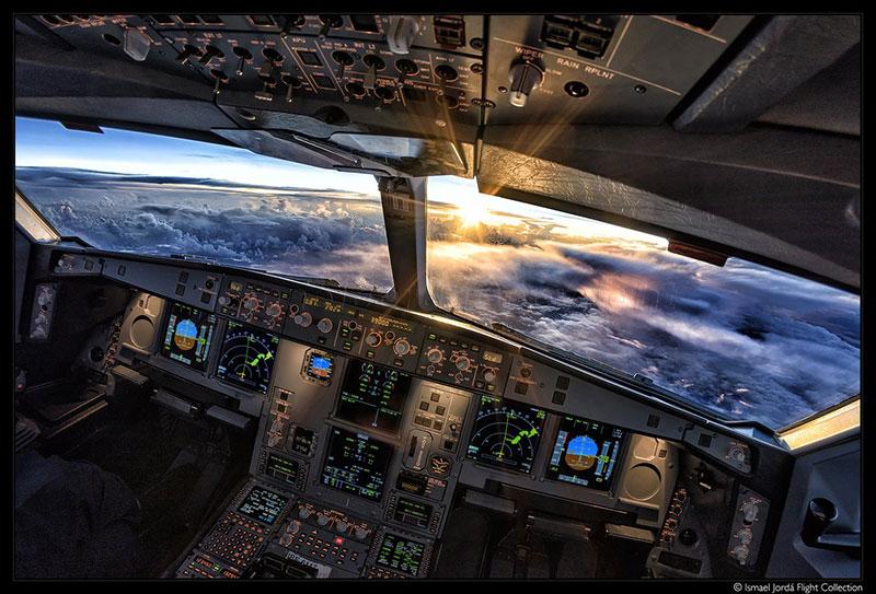 Desde la cabina de un A330 por Ismael Jordá