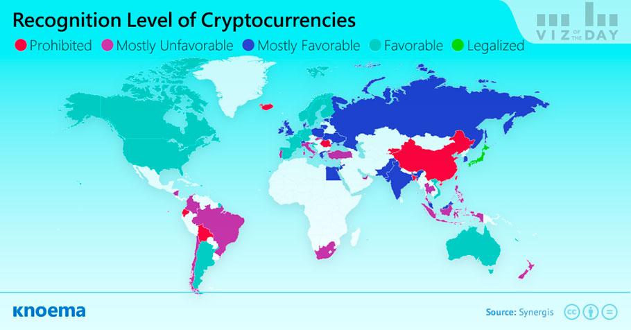 Knoema/ Legal Status of Cryptocurrencies