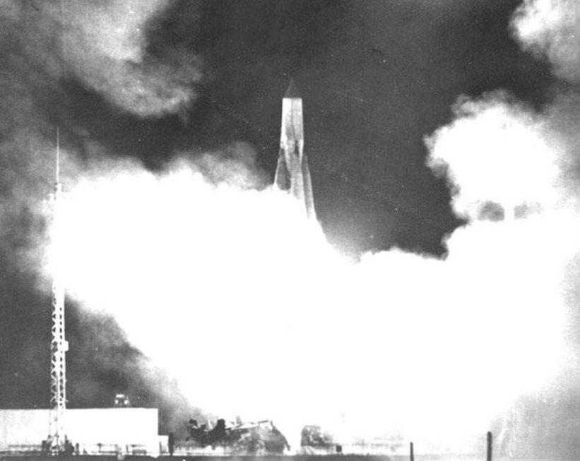 Lanzamiento del Sputnik 1