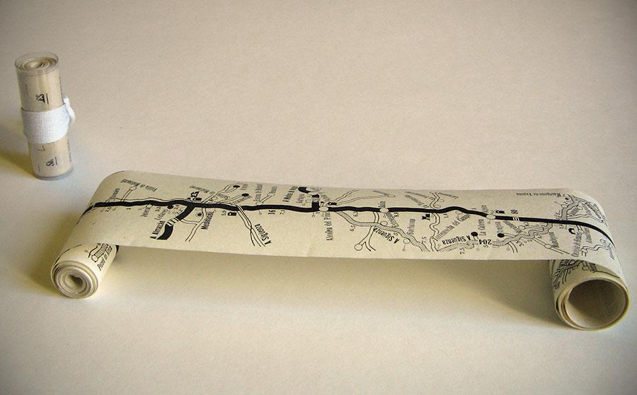 Los GPS de papel de los años 60 / BNE