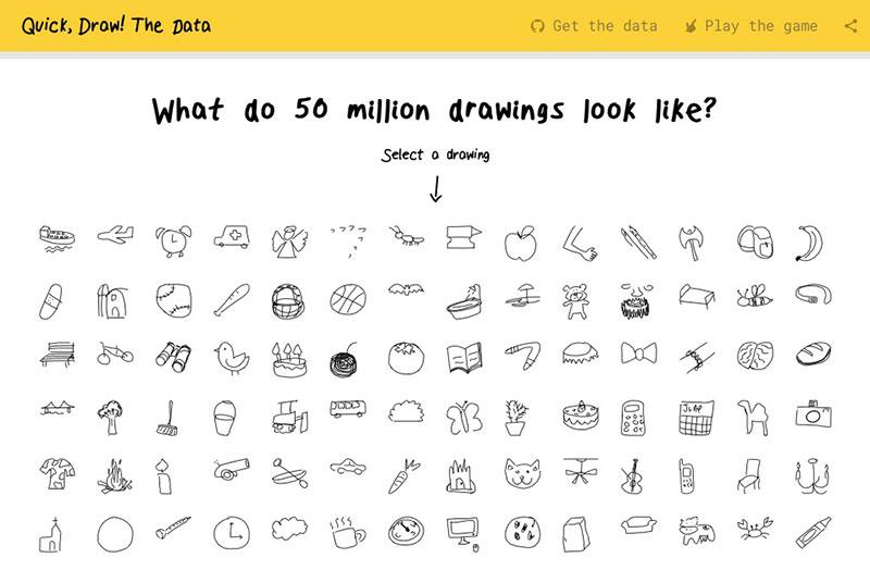 Quick, Draw! Data