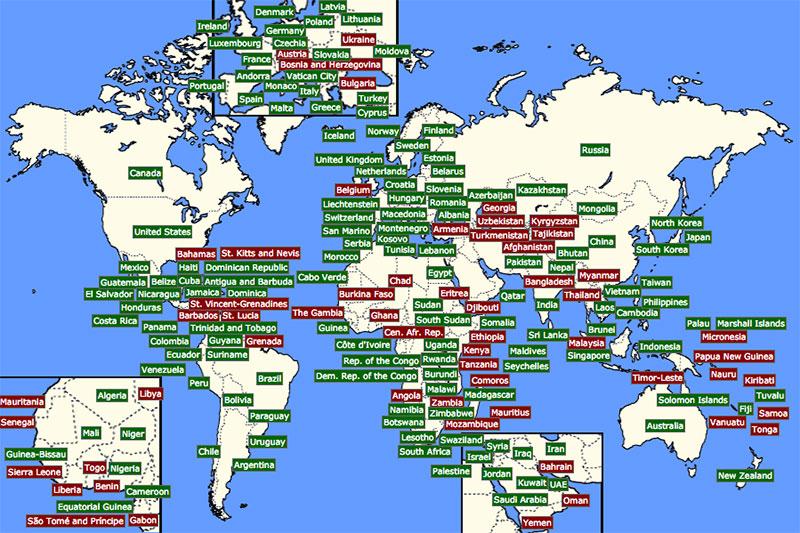 197 paises