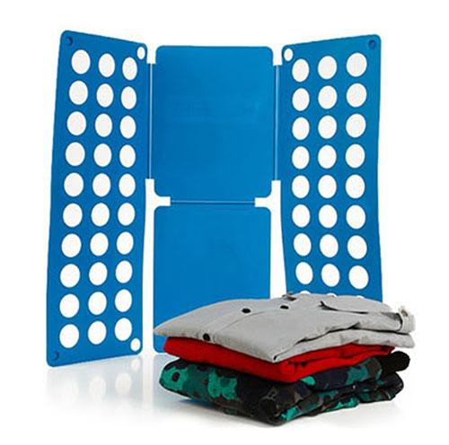 Ropa de los cabritos Ropa De Lavander a Carpeta Tablero Plegable Junta Camiseta Organizador de la