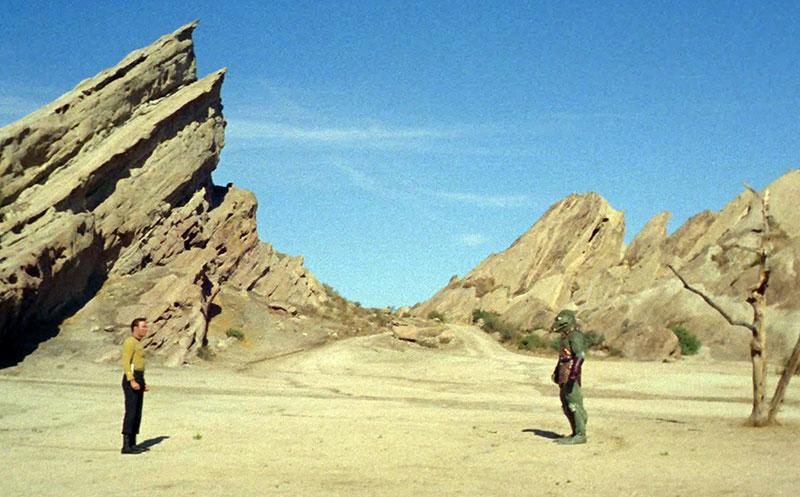 Star Trek en las Rocas Vasques