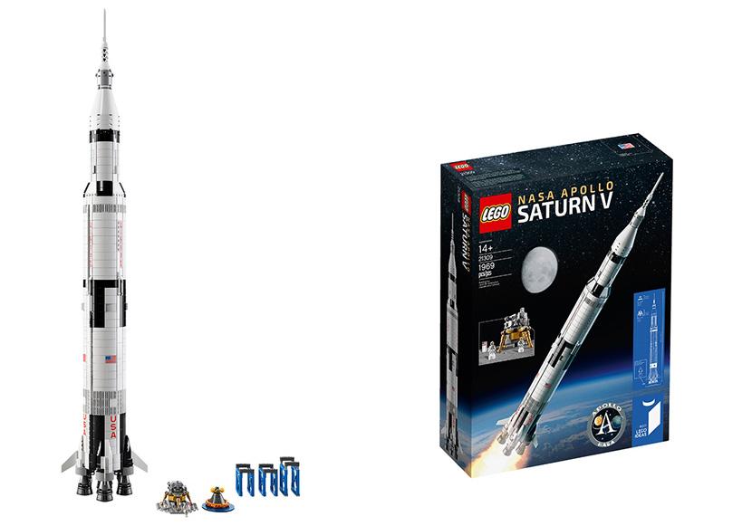 NASA Saturno V Lego Ideas 21309