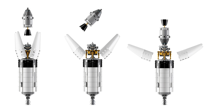 NASA Saturno V Lego Ideas 21309