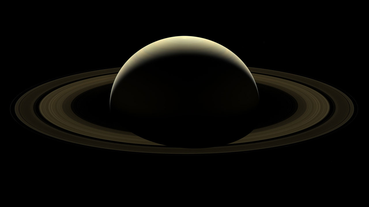 A farewell to Saturn - NASA/JPL-Caltech/Space Science Institute