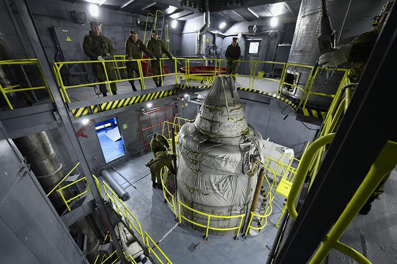 Preparativos para el lanzamiento del Sentinel 5P