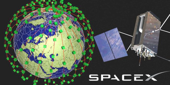 SpaceX Satelites