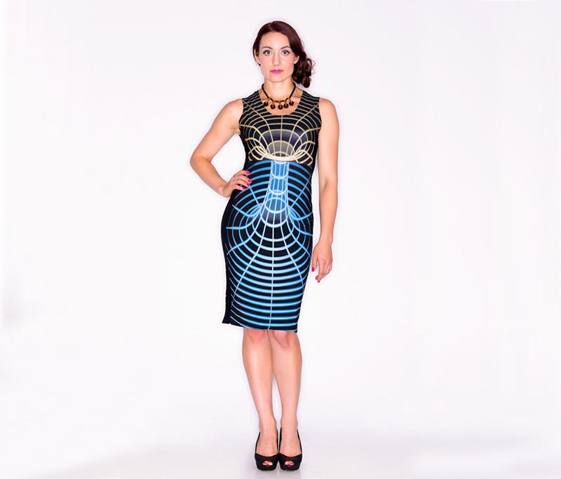 Un vestido que rompe el espaciotiempo Dress