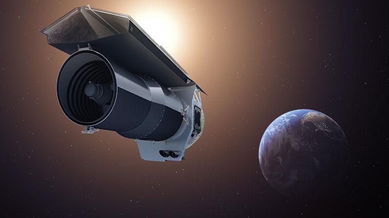 Impresión artística del Spitzer – NASA/JPL-Caltech