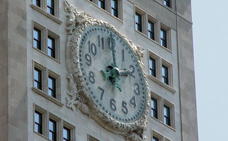 El reloj de la torre de Union Square, Nueva York (CC) Alvy