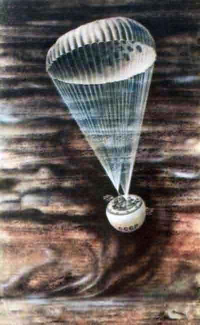 Descenso en Venus