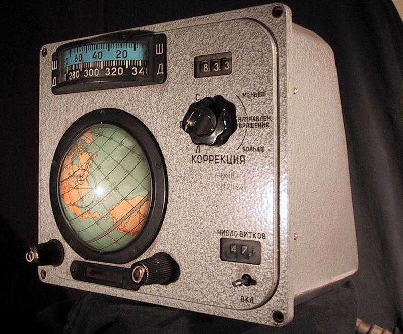Voskhod spacecraft IMP Globus
