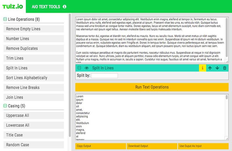 AOI Text Tools