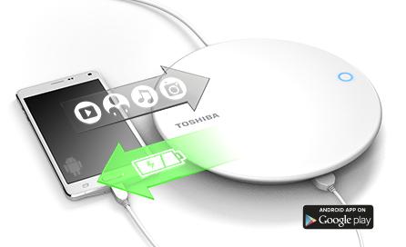 Canvio smartphone