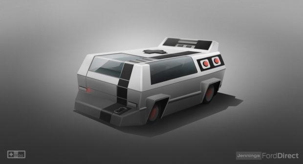 Coches futuristas con aspecto de consolas de juegos / Ford Direct