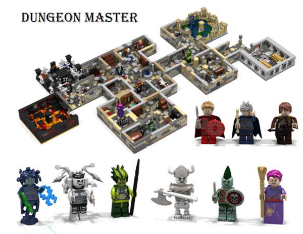 Dragones mazmorras lego