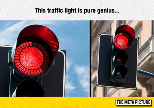 Funny red light traffic time count