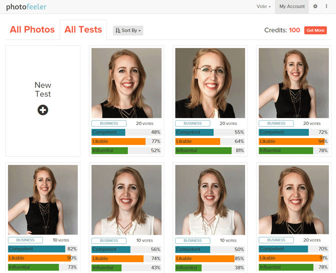 Photofeeler / Fotos de perfiles sociales: que la gente elija por ti
