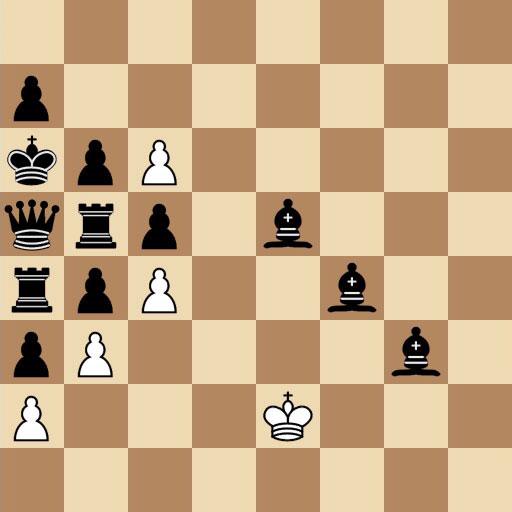 Penrose chess problem