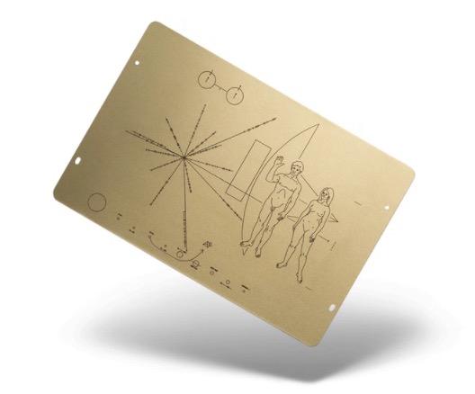 Placa Pioneer 10 / 11