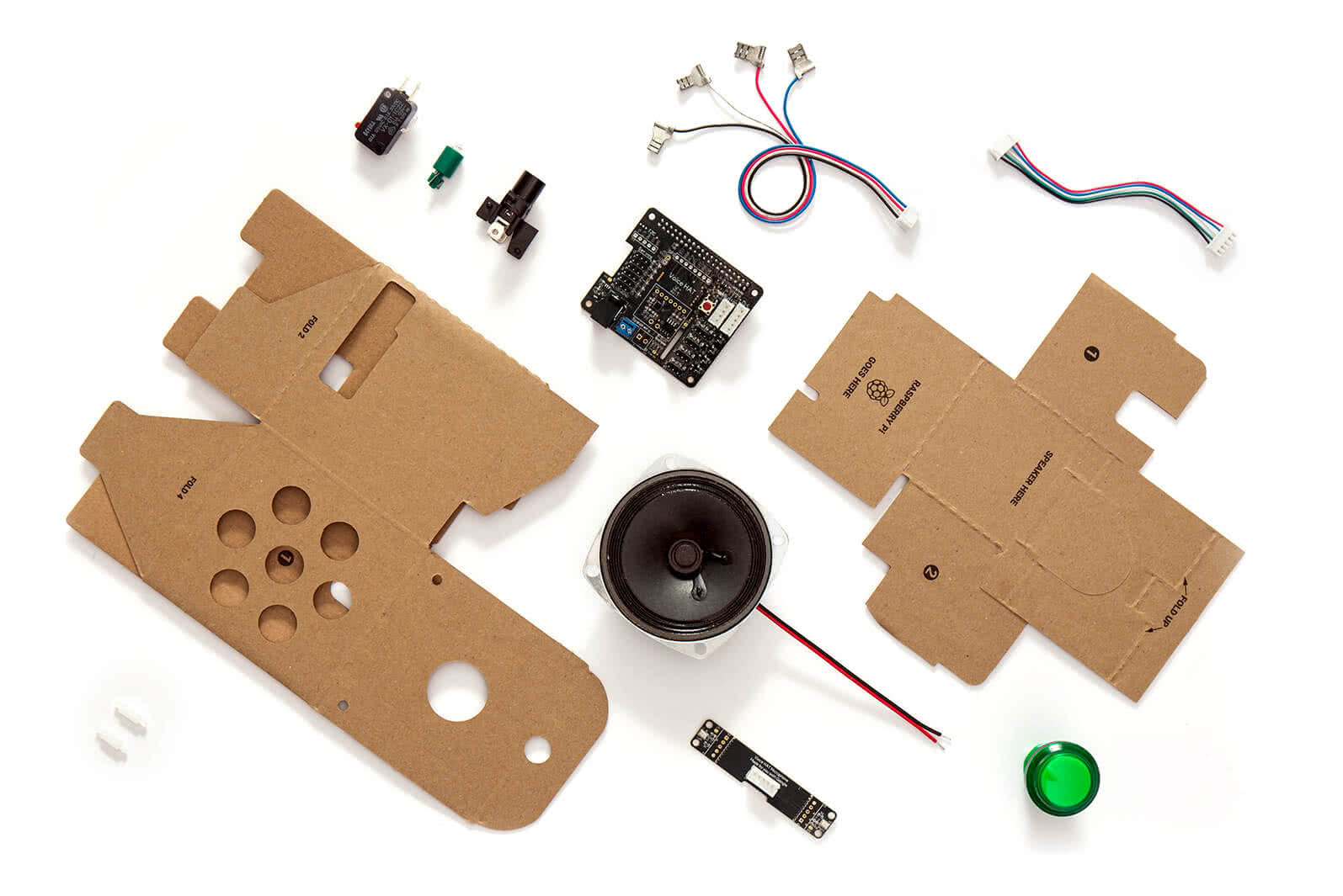 Voice Kit / Google + Raspberry Pi / Materials