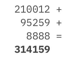 Todo número natural en forma de suma de tres números capicúas