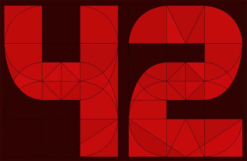 El encanto de las tipografías de segmentos