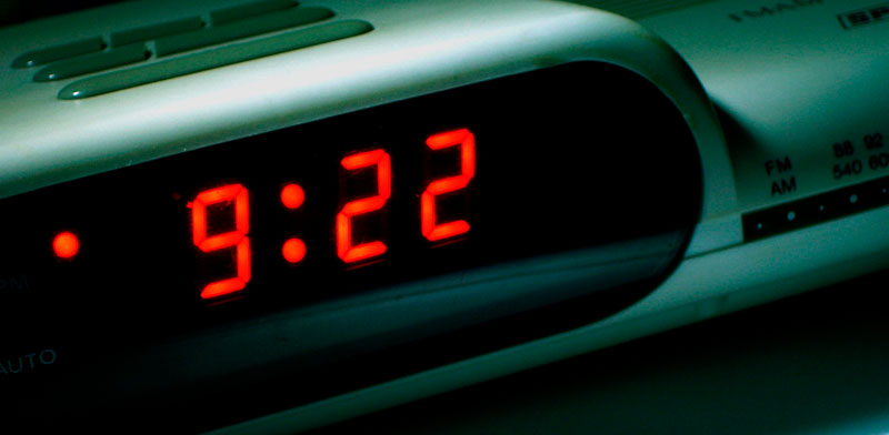 Alarm Clock (CC) Douglas Heriot @ Flickr